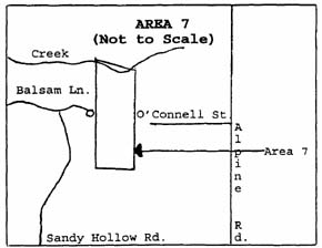 Vicinity Map Area 7, Southeast Rockford Groundwater Contamination Superfund Site
